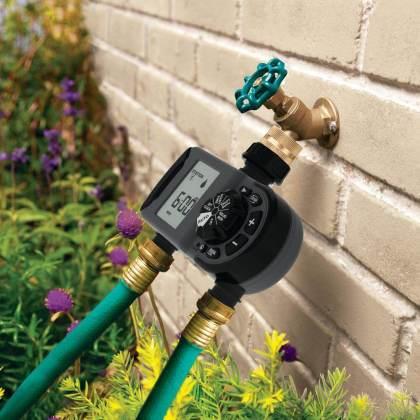 hose faucet timer system