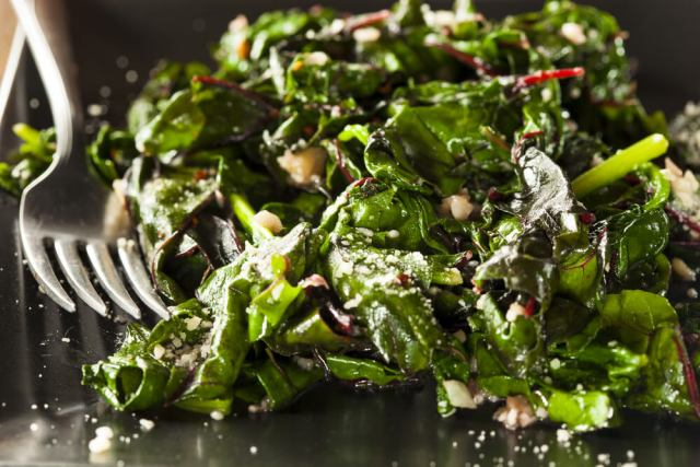 cooking with swiss chard