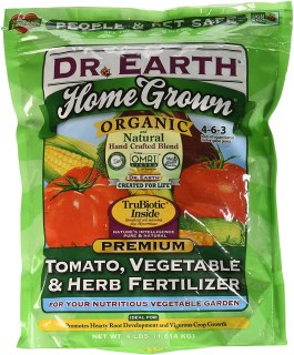 dr earth organic vegetable fertilizer