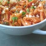 Sweet Chilli Macaroni with Smoked Mozarella