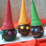 chocolate witch apples