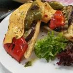grilled vegetable baguette