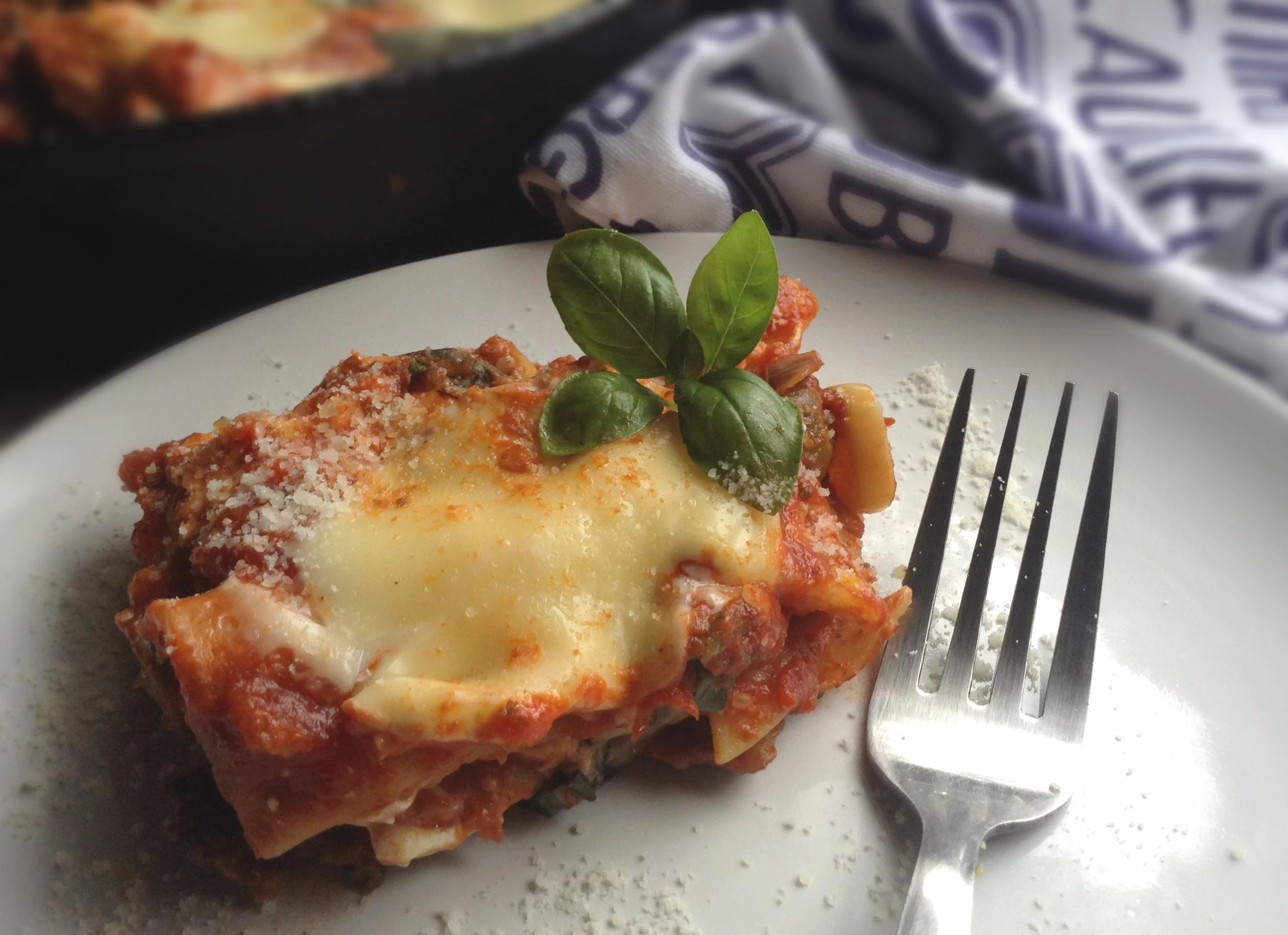 Quick and easy to make in just 30 minutes, Stove Top Vegetable Lasagna is a one pot dinner that is hearty and comforting.