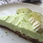 No Bake Lime Jelly Cheesecake