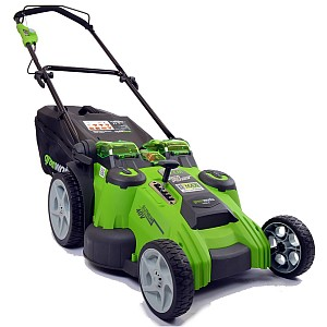 Greenworks G-MAX 50Li-40V Lithium-Ion 3-in-1 Twin-Force Cordless Lawnmower