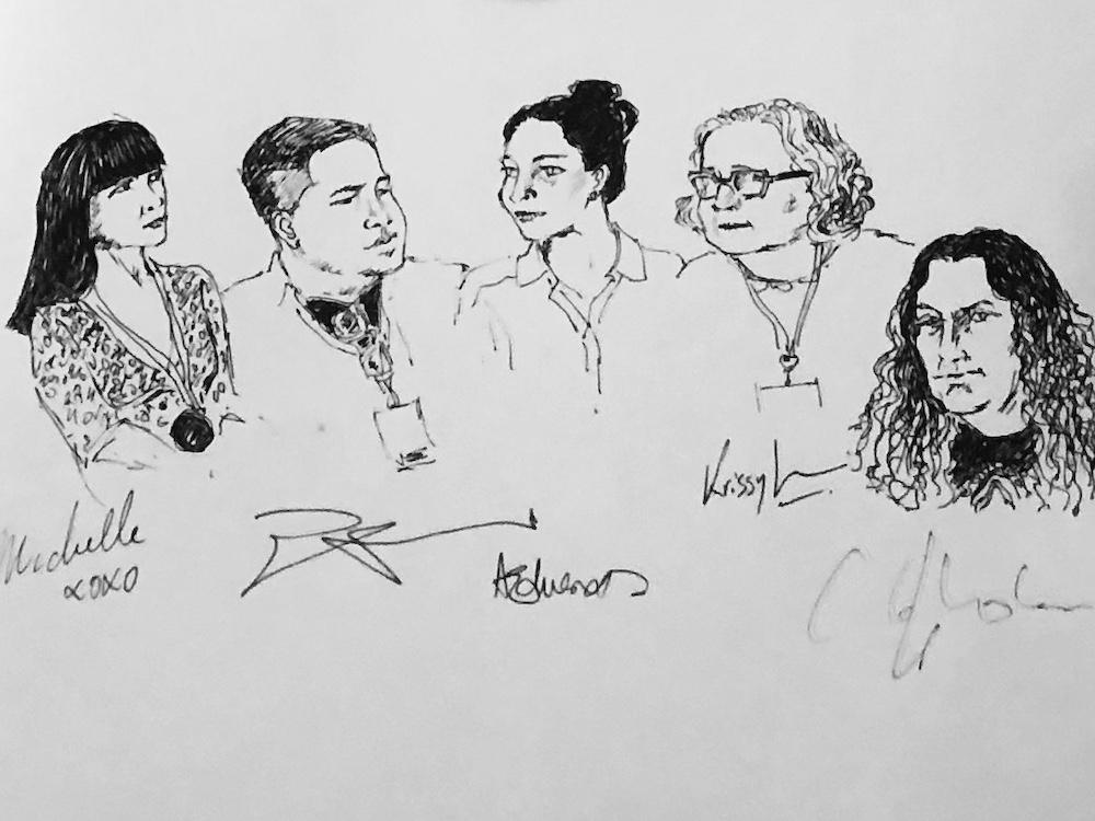 The Garret_Speculative Fiction_Sketch