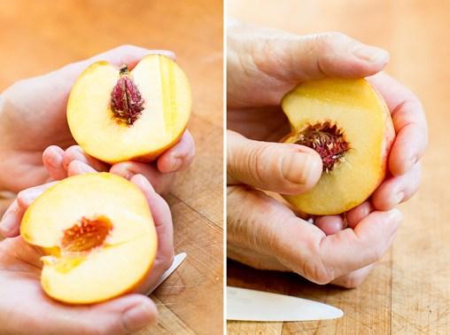 Coconut Yogurt Cake with Roasted Peaches-13