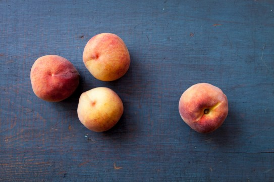 Coconut Yogurt Cake with Roasted Peaches-4