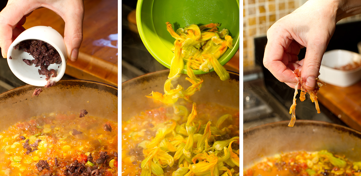 Torchio Pasta with Squash Blossoms-12