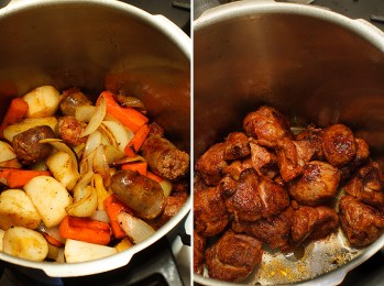 Pressure Cooker Lamb Stew with Chickpeas, Preservred Lemon and Saffron-6