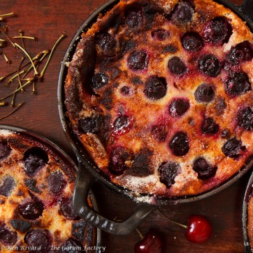Cherry Goat Cheese Clafoutis-2