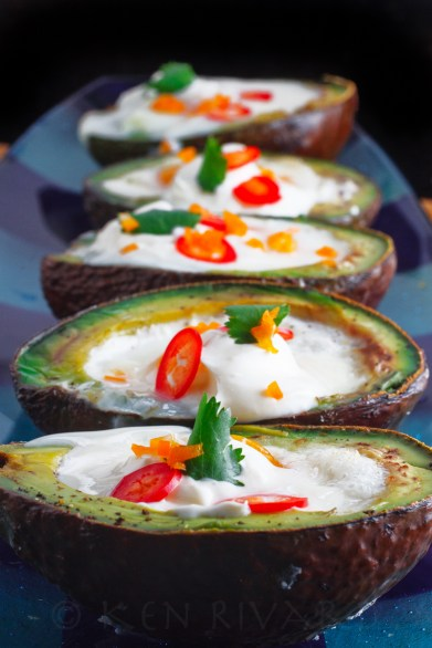 Eggs Baked in Avocado-23