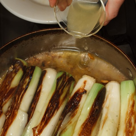 Braised Leeks with Meyer Lemon, Pancetta and Parmigiano Reggiano -37