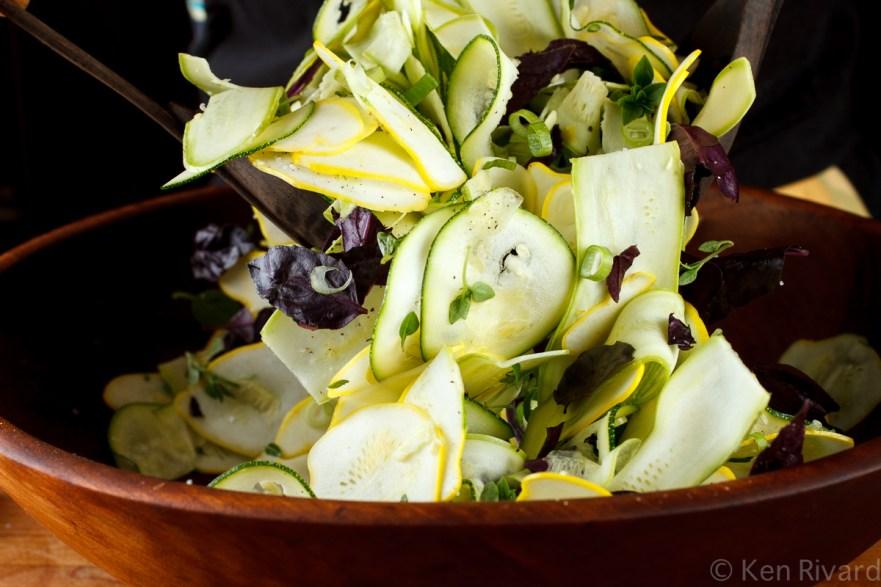 Summer squash salad-8151
