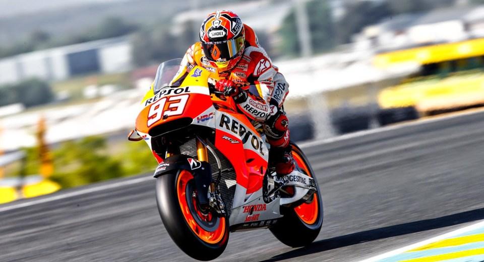 Marc Marquez Le Mans 2014