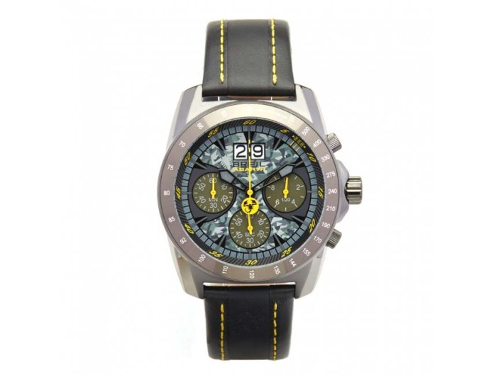 Abarth Watch - BREIL FOR ABARTH YELLOW BRACELET