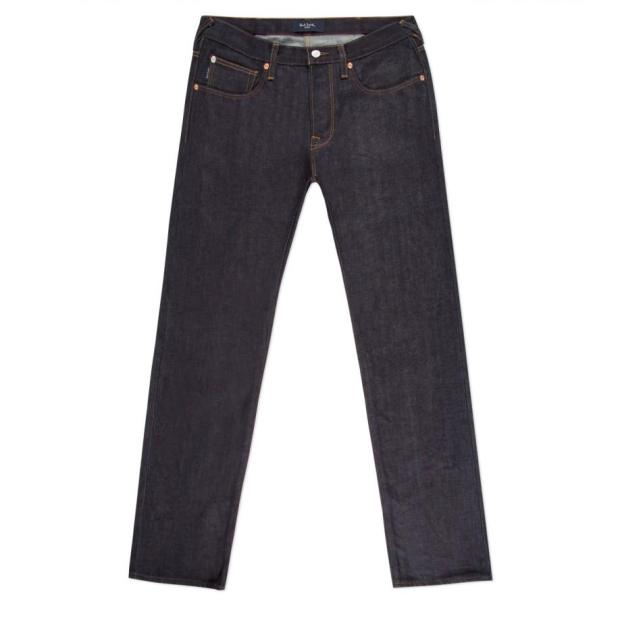 Paul Smith Jeans - Tapered-Fit Dry Indigo Selvedge Jeans