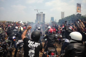 Indonesia Mods vs Rockers 2015