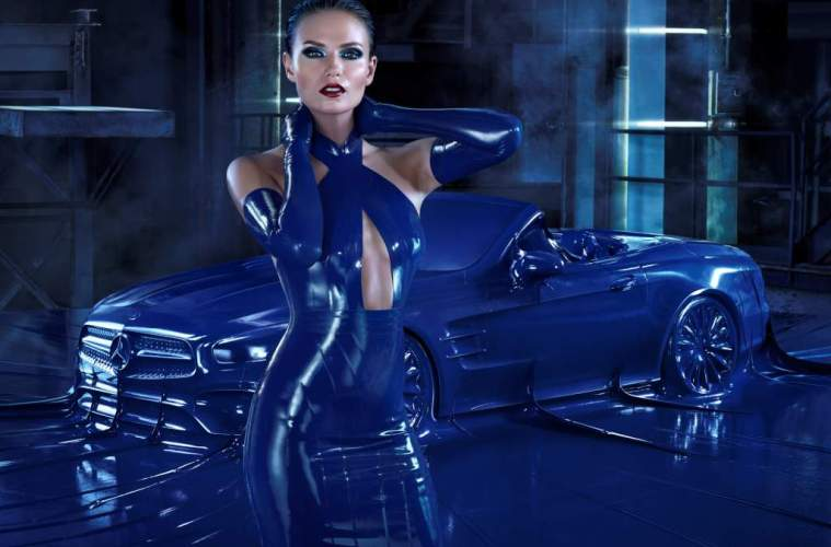 International Mercedes-Benz Fashion Campaign AutumnWinter 2016 Obsession with an Icon