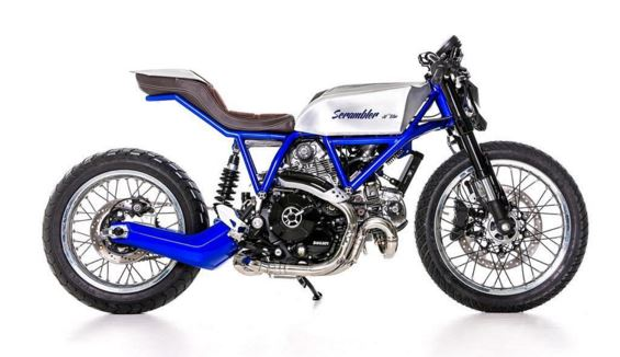 Ducati Scrambler - AL13 Blue