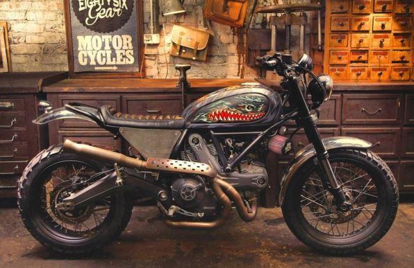 Ducati Scrambler - Iron Lungs