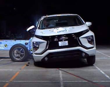 Crash Test Mitsubishi XPander