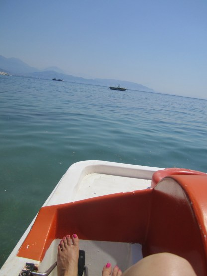 Our Paddle Boat
