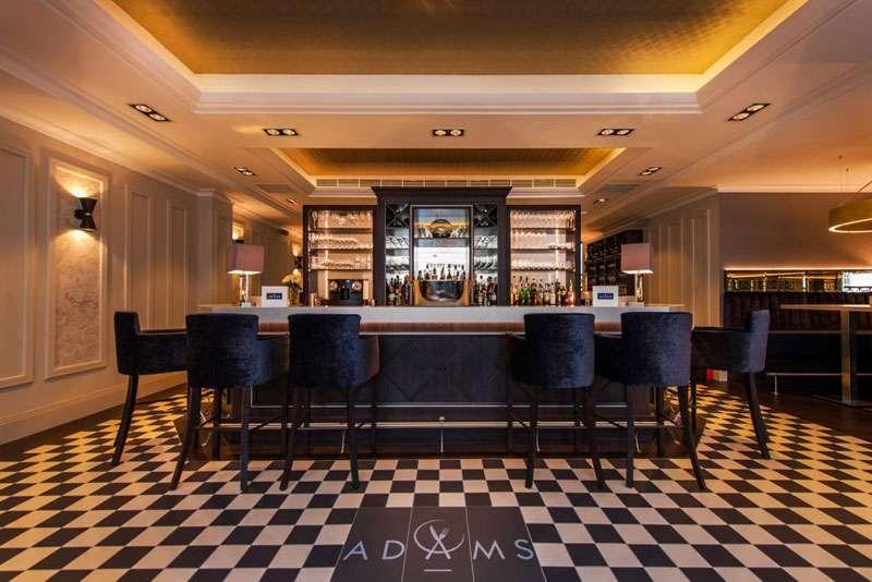 The bar –