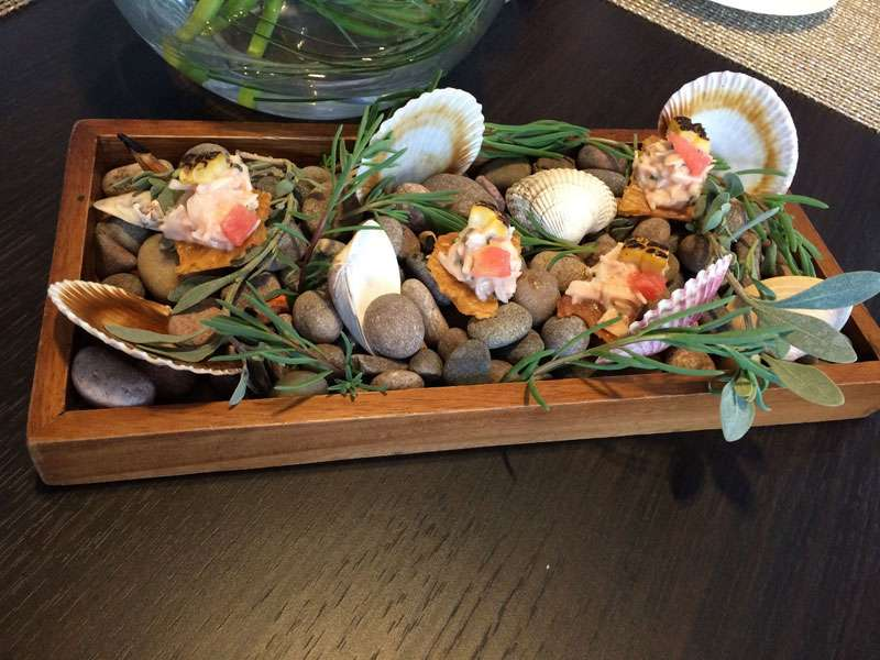 More fantastic seafood amuse bouche -
