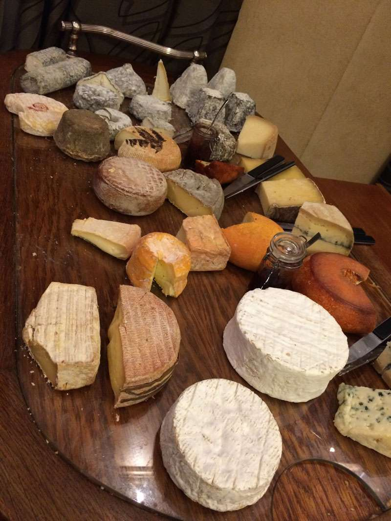 French cheese selection –