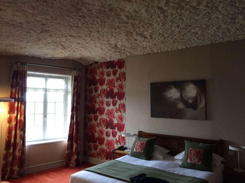Our troglodyte room