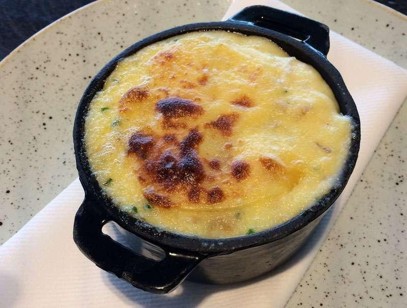 The cauliflower cheese