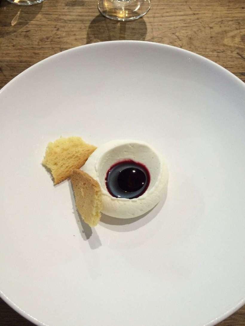 Blackcurrant with vanilla