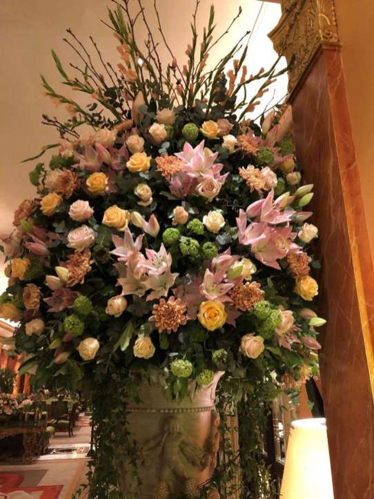 Some of the arrangements are breath-taking