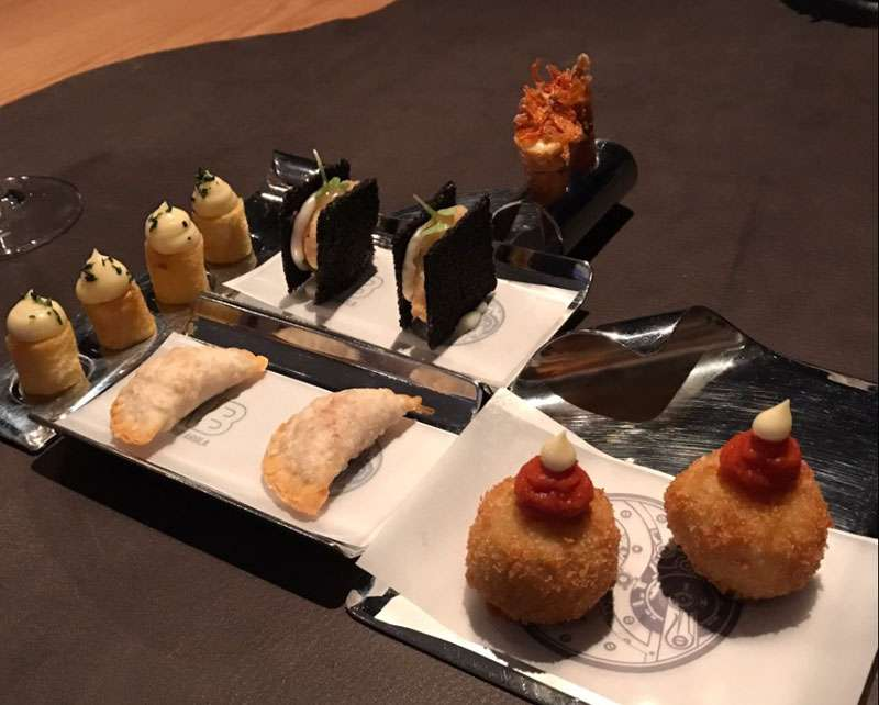 Fabulous appetizer selection -