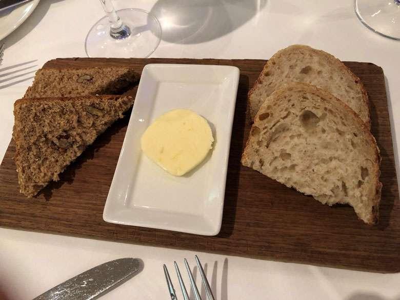 Excellent sourdough and walnut bread