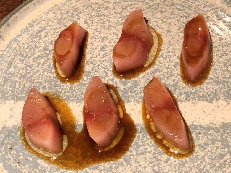 Mackerel appetiser