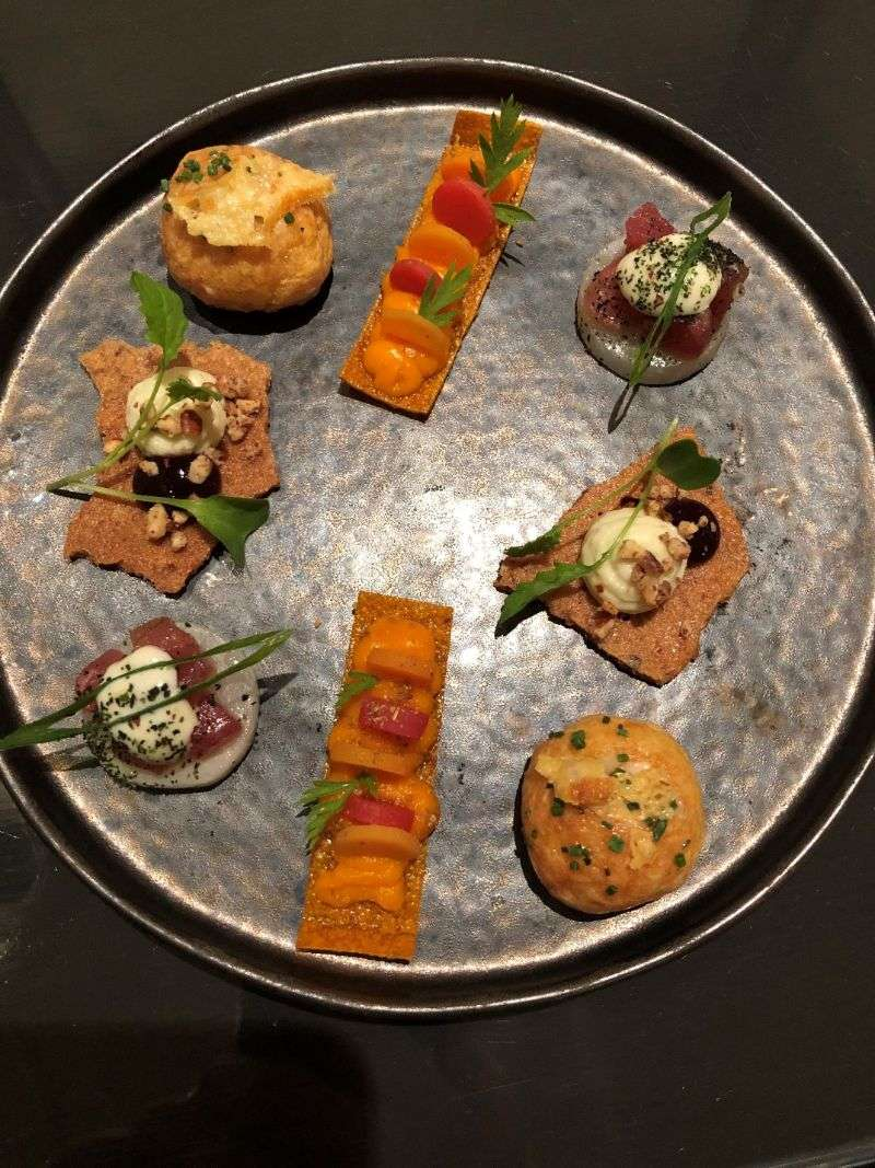 Selection of appetizers