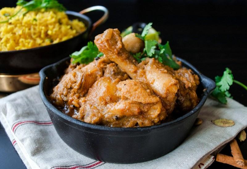 Bengali bhuna chicken- Spicy Dry Chicken Curry