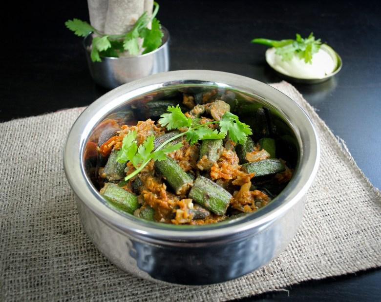 Bhindi Masala- Spicy Okra Curry