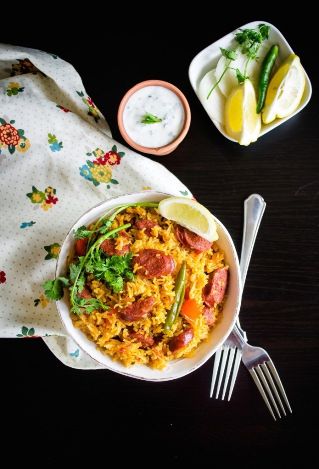 spicy-chorizo-rice