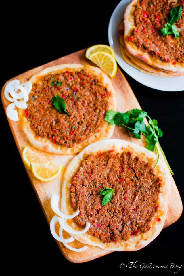 turkish lamb lahmacun