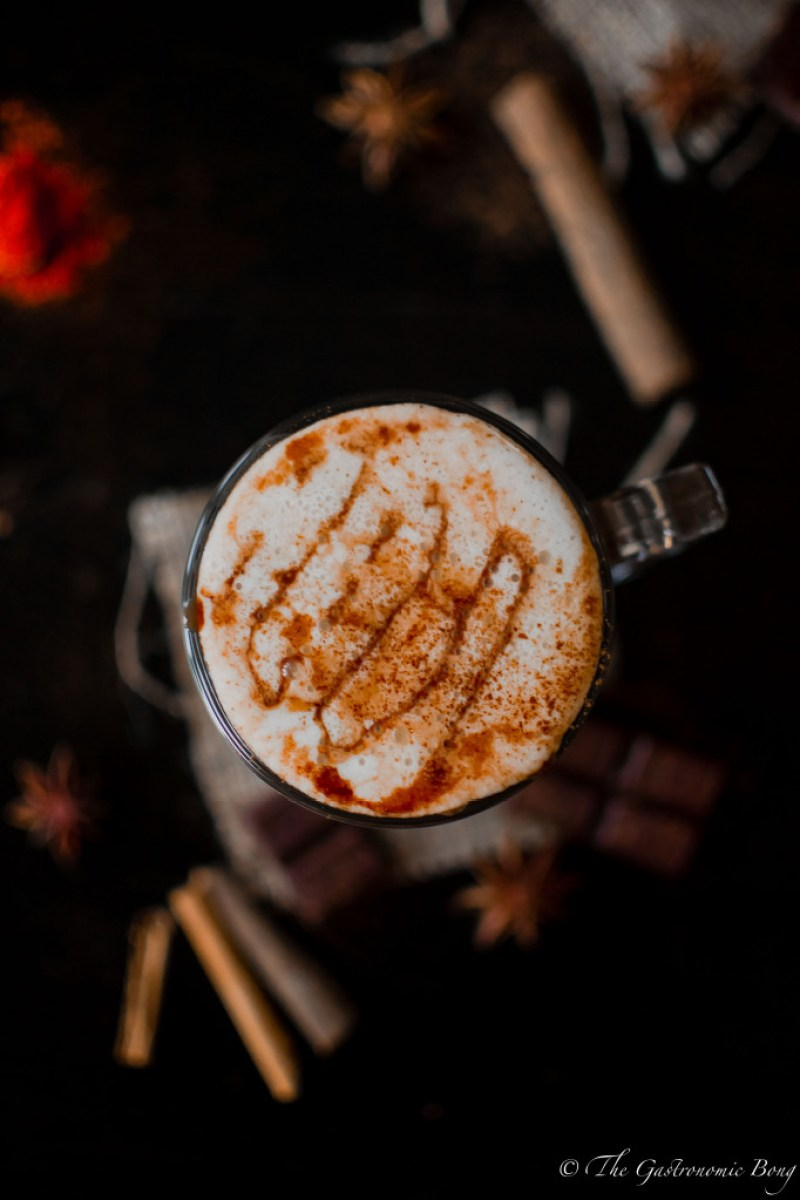 Spiced Mexican Hot Chocolate With Nutella Sauce