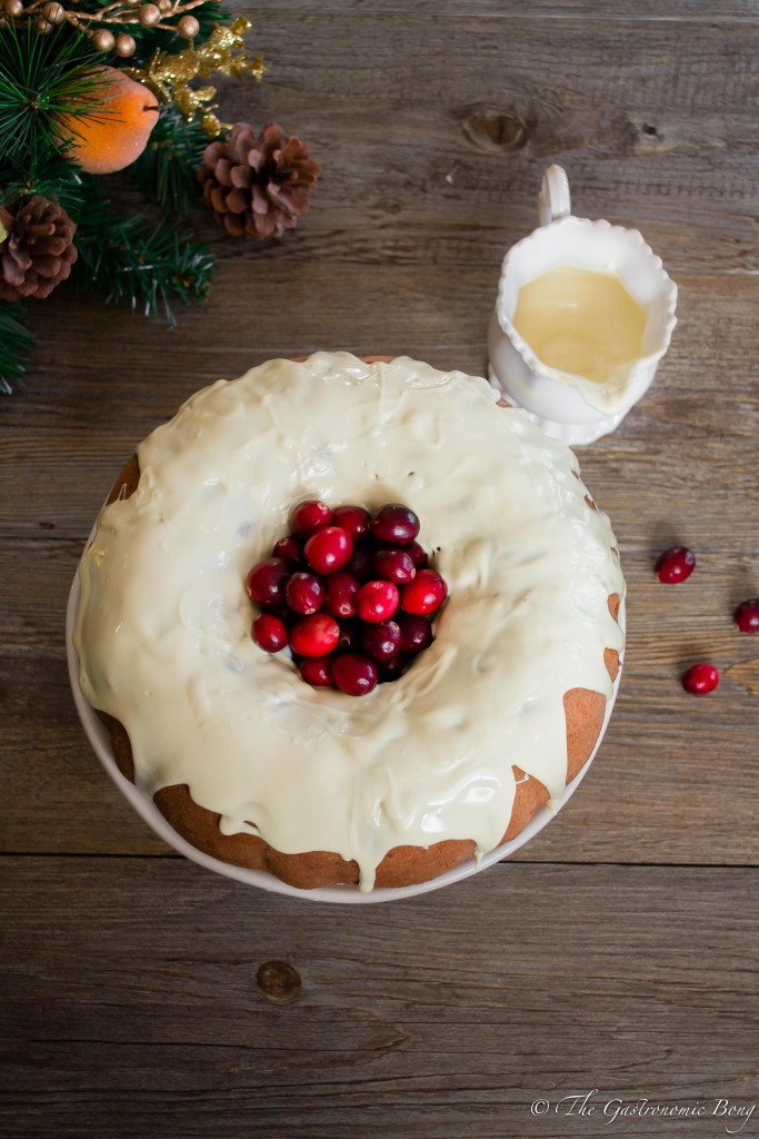 Orange and Cranberry Bundt Cake with White Chocolate Drizzle9