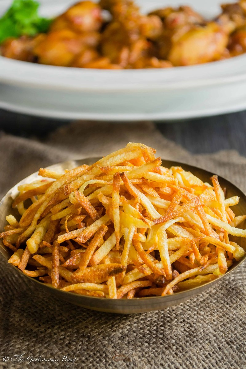 Parsi Sali (Matchstick Potato Fries)