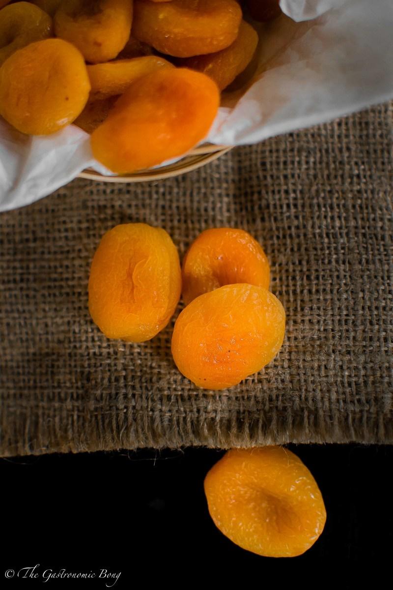 Apricot Chicken Curry With MatchStick Potato Fries (Jardaloo Sali Murghi)