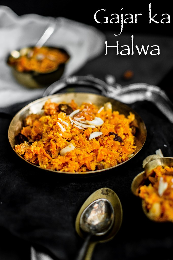 GAJAR KA HALWA with Condensed Milk (INDIAN STYLE CARROT HALWA)