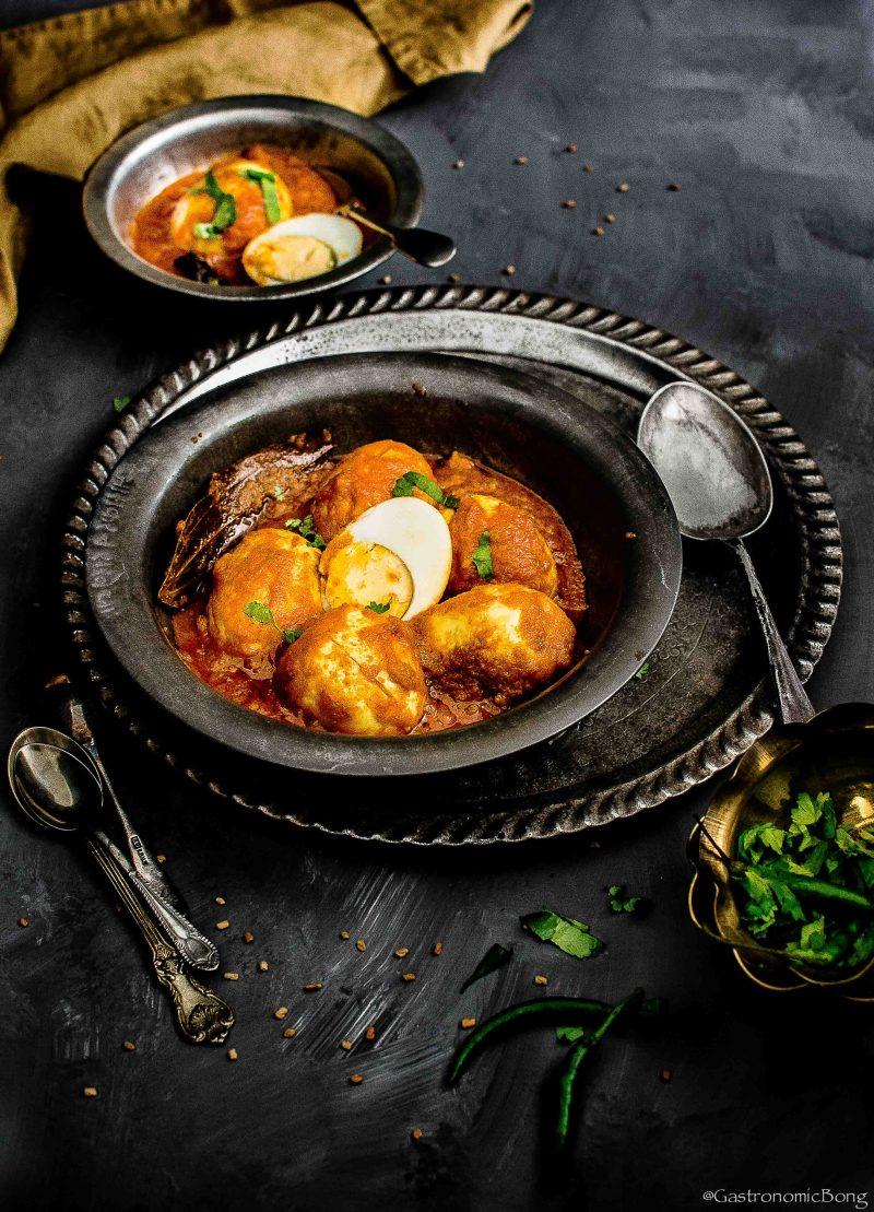 Dim er Kosha - Bengali Spicy Egg Masala