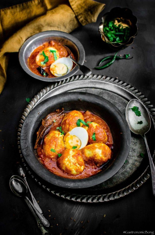 Dim er Kosha - Bengali Spicy Egg Masala recipe
