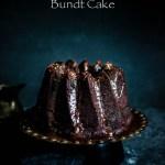 Chocolate and Chilli Mayonnaise bundt Cake